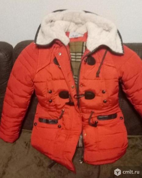 Зимняя куртка для девочки. Фото 1.