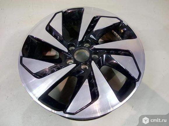Диск колесный литой R18X7J ET45 5X114.3 HONDA CR-V 12- б/у 42700T1VE92 3*