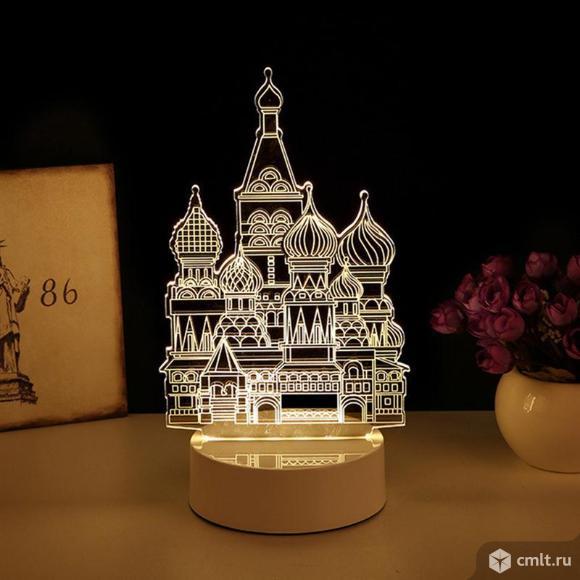 Светильник 3D Купола бесплатная доставка