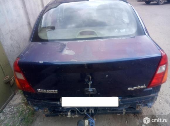 для Renault Symbol крышка багажника бу номер 7751477481 капот, решетка радиатора,дверь передняя левая,дверь передняя правая, дверь задняя левая, дверь задняя правая,крыло переднее левое,крыло передне