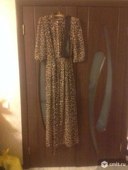 Платье в пол. Фото 4.