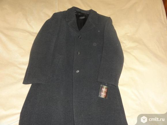 Пальто мужское 100%шерсть новое. Фото 1.