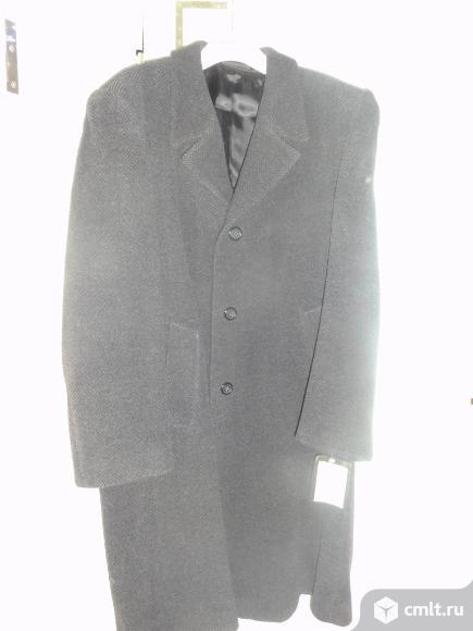 Пальто мужское 100%шерсть новое. Фото 4.