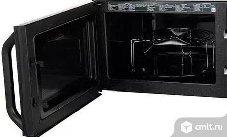 Новая, в упаковке 23л керамика Samsung MG23K3573AK  микроволновая печь с грилем. Фото 2.