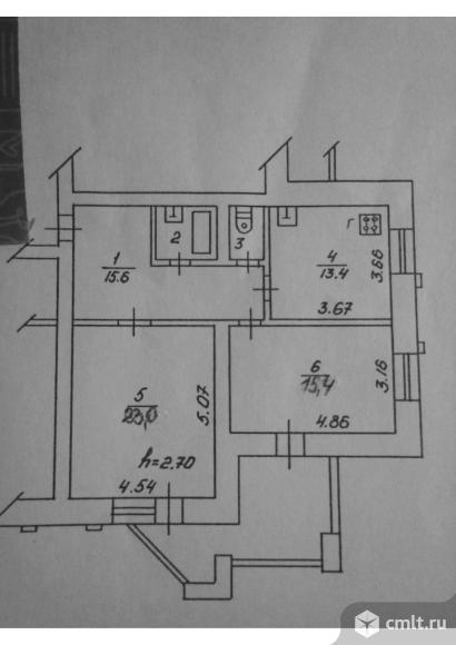 2-комнатная квартира 72,4 кв.м
