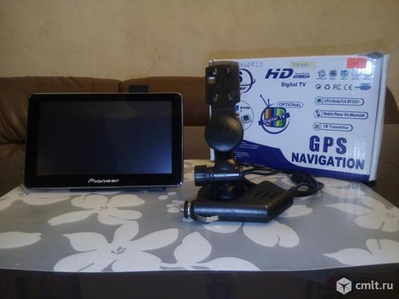 GPS PIONEER навигатор-регистратор. Фото 1.