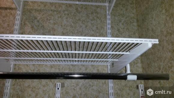 Штанга для вешалок, направляющая, брючница ELFA. Фото 1.