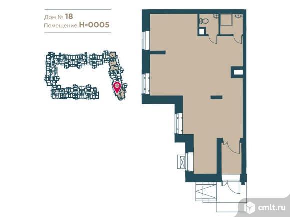 Продажа помещения свободного назначения 60 м2