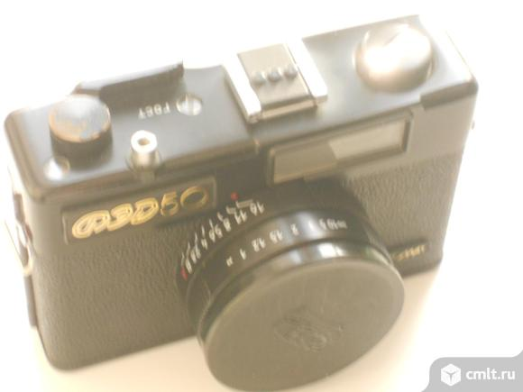 Фотоаппарат пленочный ФЭД 50. Фото 5.