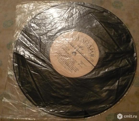 """Грампластинка (винил). Гранд [10"""" LP]. Веселый вечер (1 серия). Мелодия. 33Д-7653-4. ГОСТ 5289-68.. Фото 6."""