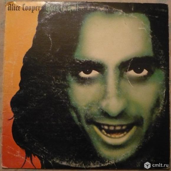 """Грампластинка (винил). Гигант [12"""" LP]. Alice Cooper. Goes To Hell. 1976 Warner Bros. BS 2896. USA.. Фото 1."""