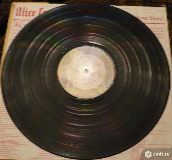 """Грампластинка (винил). Гигант [12"""" LP]. Alice Cooper. Goes To Hell. 1976 Warner Bros. BS 2896. USA.. Фото 8."""