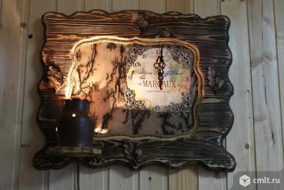 Светильники и люстры из дерева