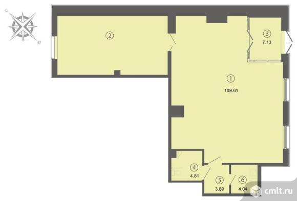 Продажа офиса 129.48 м2 м.Чернышевская
