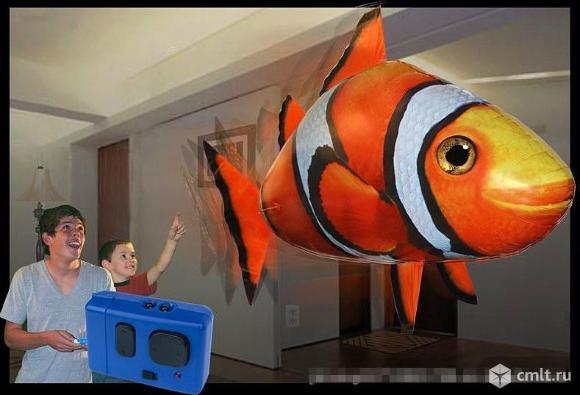 Летающие рыбы на радиоуправлении новые. Фото 1.