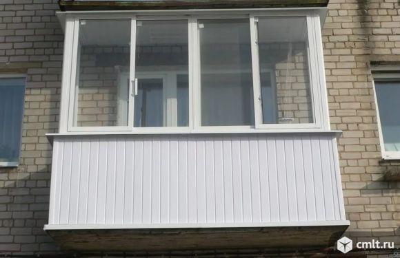 Аккуратно балкон, лоджию застеклим. Москитные сетки изготовим. Вынос балкона. Крыши. Отделка. Сварка. Фото 1.