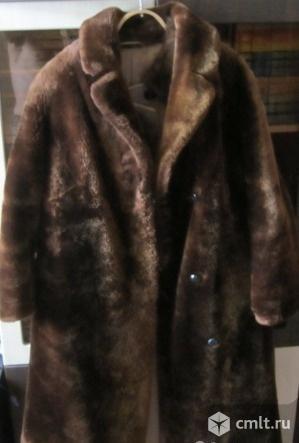Мутоновая шуба, пальто