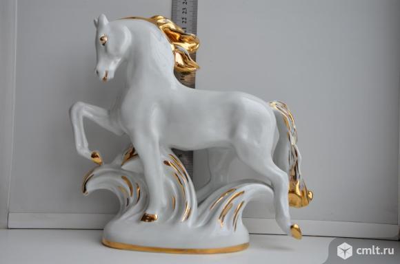 Статуэтка Конь златогривый. ЛФЗ