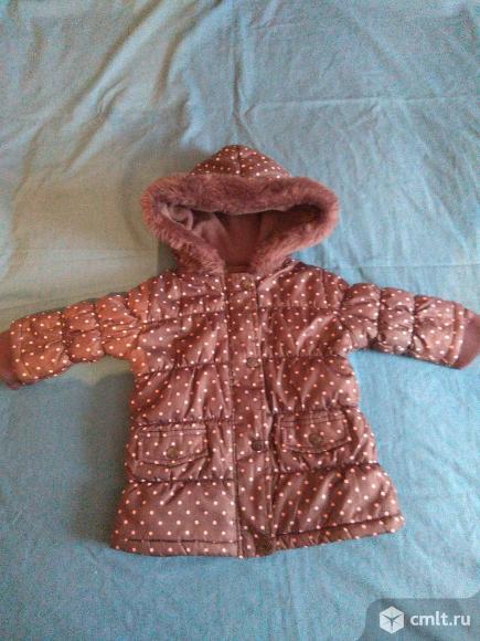 Куртка для девочки 9 месяцев