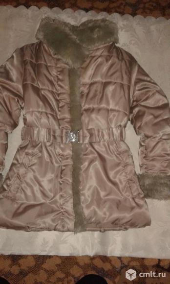 Куртка зимняя рост 128 см. Фото 1.