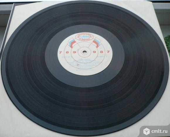 "Грампластинка (винил). Гигант [12"" LP]. Tom Waits. Swordfishtrombones. 1983. (C) АнТроп, 1991. СССР.. Фото 8."