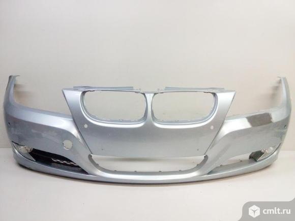 Бампер передний с решеткой и птф BMW 3 E90/E91 08-12  51117204249 177199893 63177199894 51117198902. Фото 1.