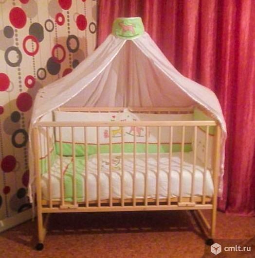 """2 кроватки """"Луна"""" и """"Антел"""""""