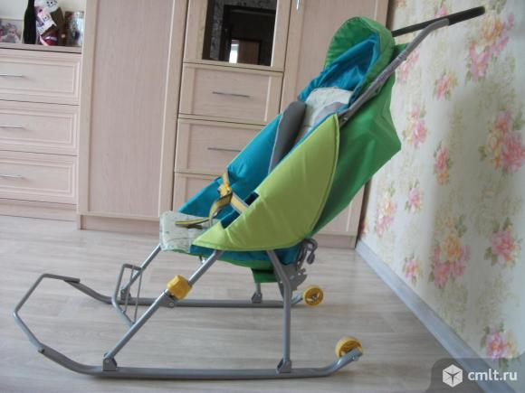 Продам санки-коляску Nika Тимка Премиум