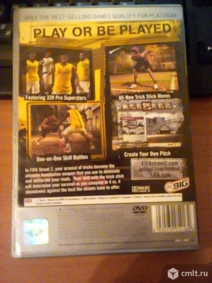 Fifa Street 2 для PS2