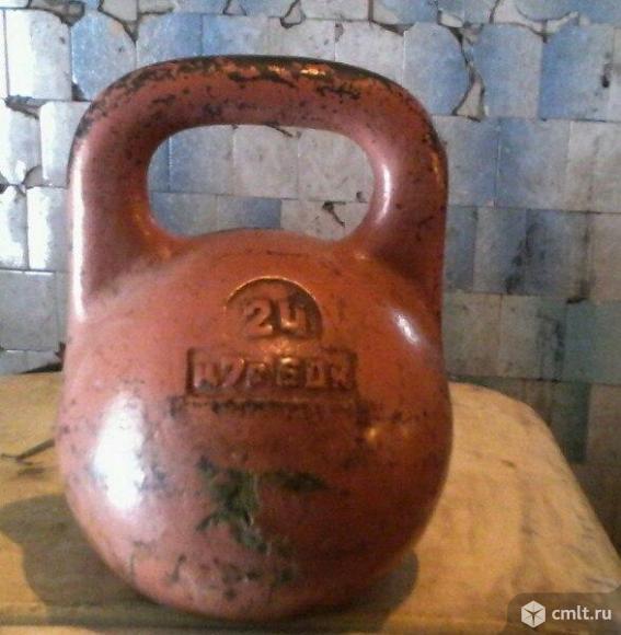 Гиря, 24 кг, отличное состояние, 1.5 тыс. р