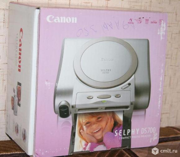 Фотопринтер Canon SELFY DS 700 портативный