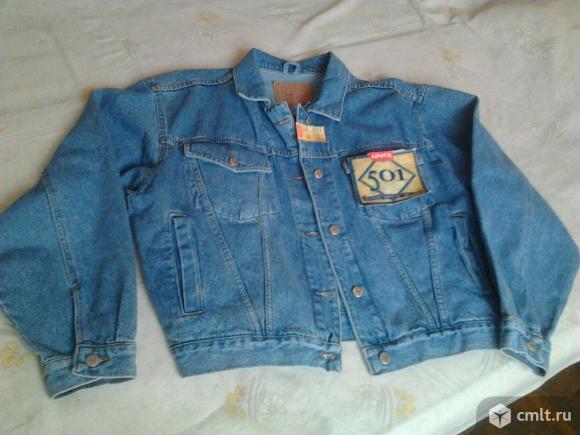 Куртка Levis джинсовая женская, р. W32/L36, новая, голубая