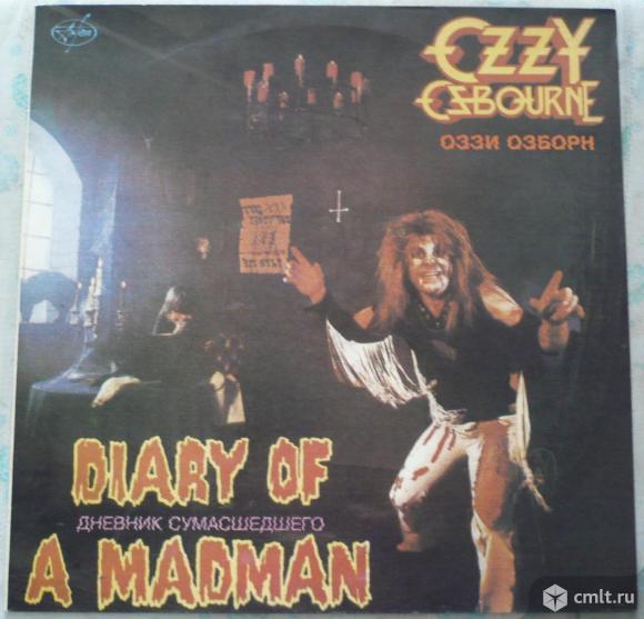 "Грампластинка (винил). Гигант [12"" LP]. Ozzy Osbourne (Black Sabbath). Diary Of A Madman. 1981.. Фото 1."