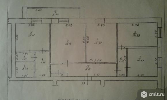 4-комнатная квартира 95,3 кв.м