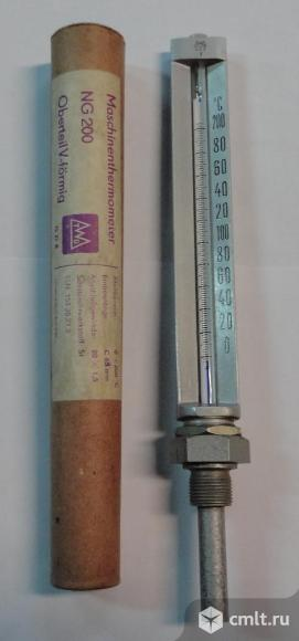 Термометр технический жидкостной ТТЖ-М, Термометр виброустойчивый NG 200, Оправа для термометра Р-63. Фото 1.