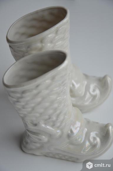Фарфоровые статуэтки Сапожки. Голландия.. Фото 1.