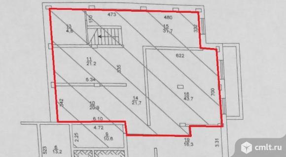 Продается помещение 163.6 м2,Новосибирск,