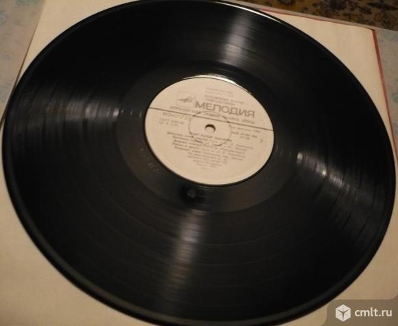 """Грампластинка (винил). Гигант [12"""" LP]. Поет Батыр Закиров (1). Запись 1959, 1962 гг. Мелодия, 1986.. Фото 8."""