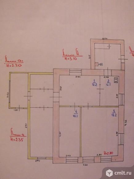 Дом 47,6 кв.м. Фото 3.