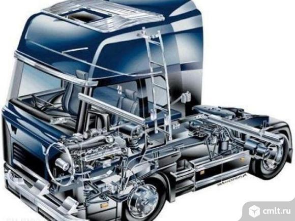 Запасные части на грузовик. Фото 1.