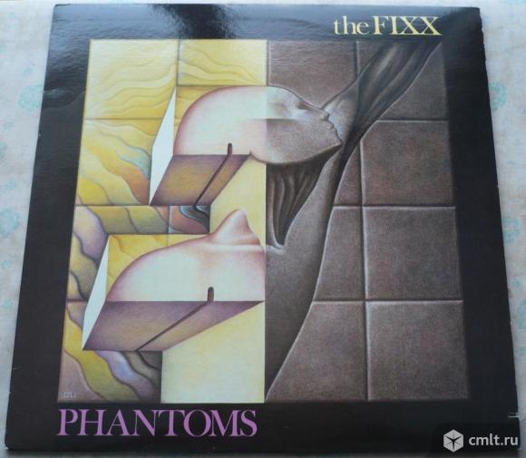 """Грампластинка (винил). Гигант [12"""" LP]. The Fixx. Phantoms. (C)(P) 1984 MCA Records, Inc. Канада.. Фото 1."""