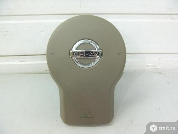 Подушка безопасности AIRBAG  водителя  рулевого колеса NISSAN PATHFINDER R51 / NAVARA 06-12 новая ор. Фото 1.