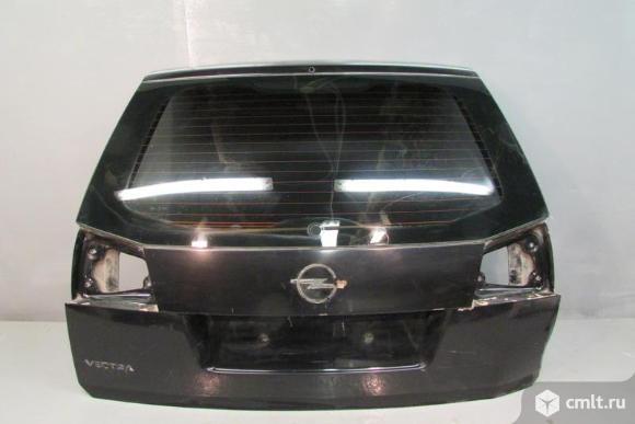 Крышка багажника OPEL VECTRA C универсал 5D 04-08 б/у 0126122 93177882 4*. Фото 1.