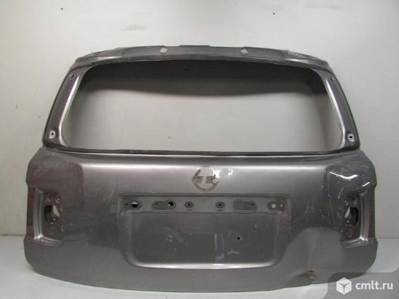 Крышка багажника NISSAN PATROL Y62 10-16 б/у K010M1LLMB 3*. Фото 1.