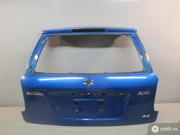 Крышка багажника SUZUKI SX4 06-13 б/у 6910080J10  6910081810 4*. Фото 1.