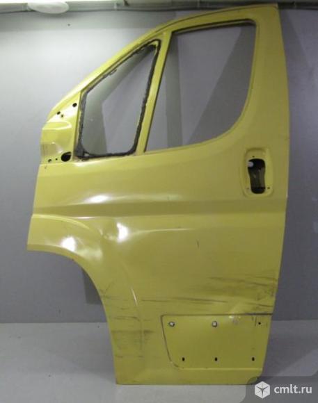 Дверь передняя левая PEUGEOT BOXER FIAT DUCATO 06- б/у 1385514080 3*. Фото 1.
