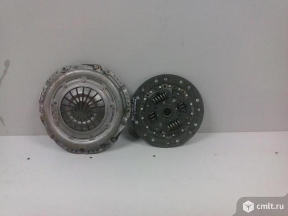 Комплект сцепления  диск корзина FORD FOCUS 98-05 2.0 131л.с 3S417540E1A  новый оригинальный 5*. Фото 1.