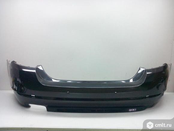 Бампер задний под парктр. BMW 5 F10 10-12 б/у 51127332773 3*. Фото 1.