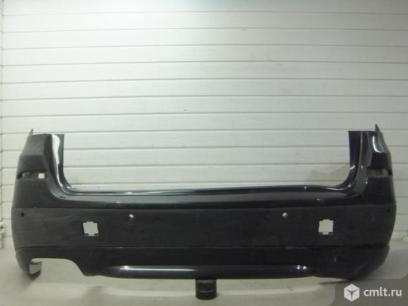 Бампер задний под парктр. BMW X3 F25 10- б/у 51127278478 3*. Фото 1.