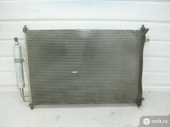 Радиатор кондиционера NISSAN X-TRAIL T31 07- б/у 92100JG000 4*. Фото 1.